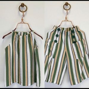 Other - Striped two piece set